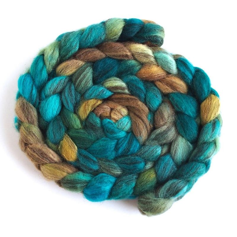 Michaux on Mixed BFL Wool Roving1