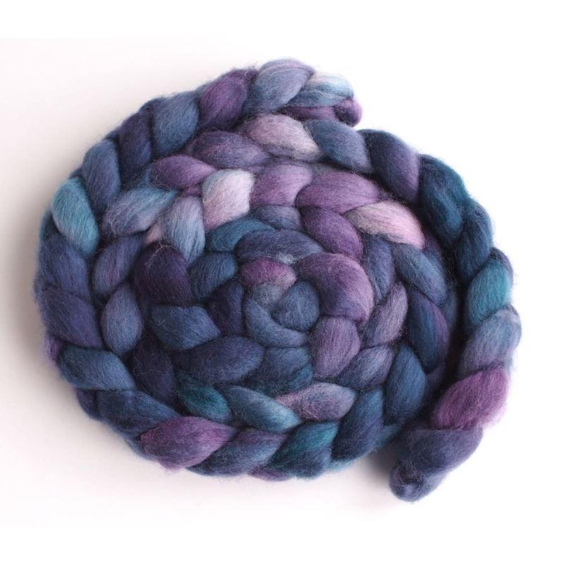 Blueberry Liqueur on Falkland Wool